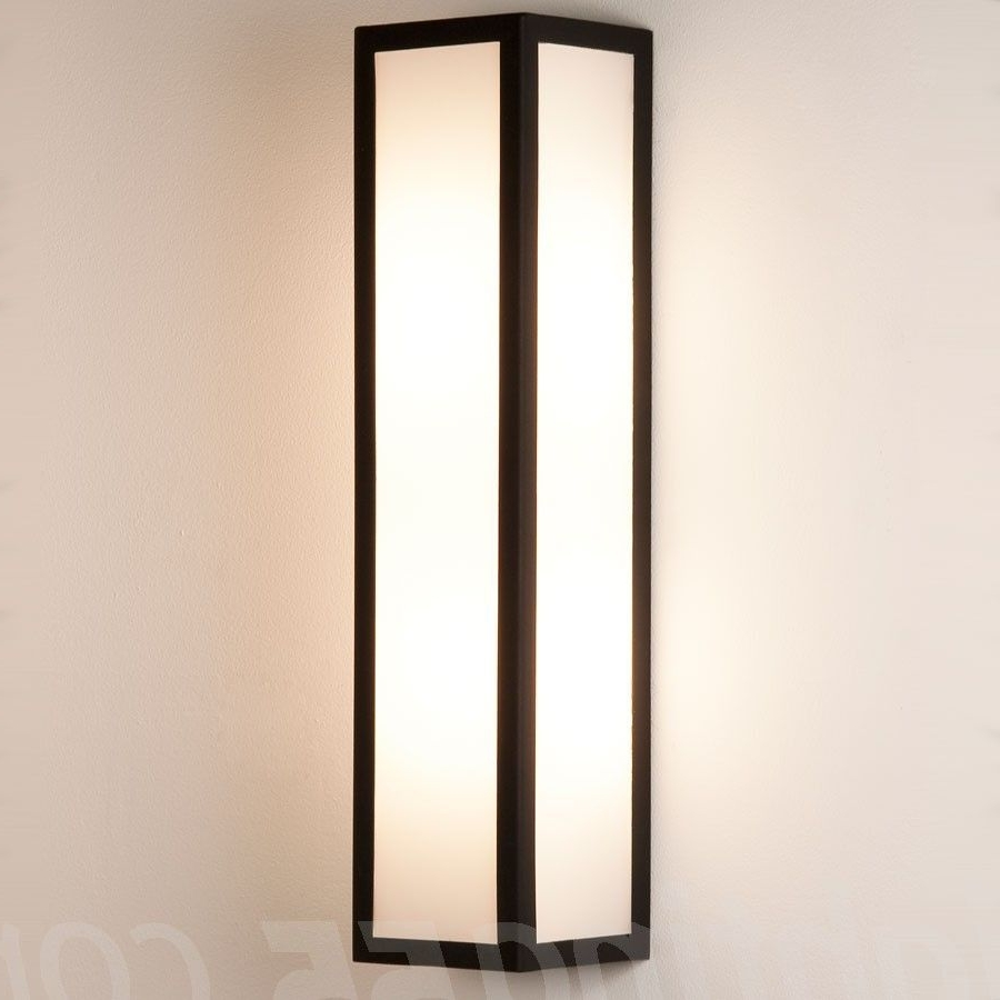 Contemporary Outdoor Lighting Sconces Intended For Preferred Salerno Outdoor Wall Sconce #modern #outdoorlighting #lighting (View 20 of 20)