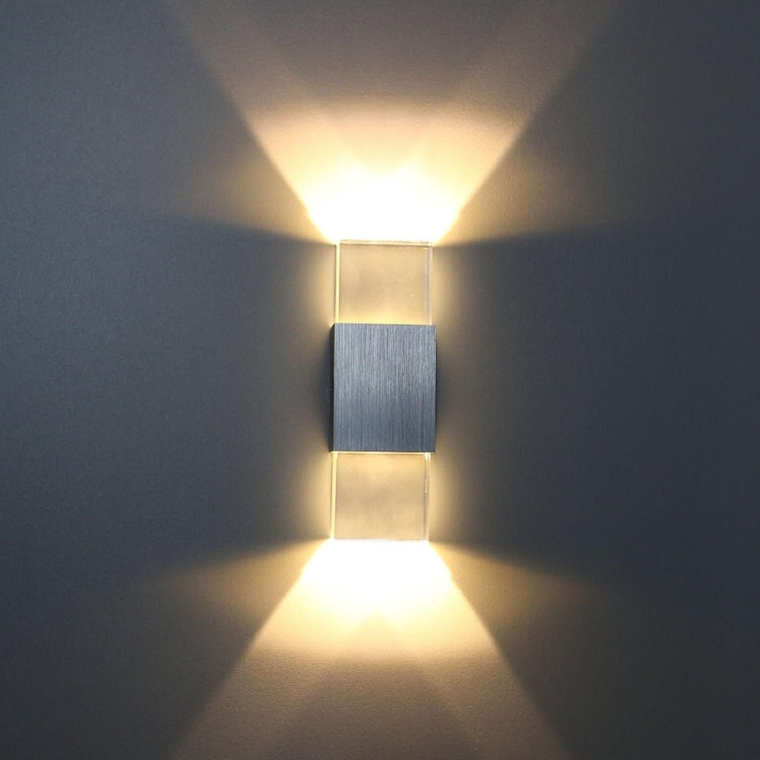Contemporary Outdoor Lighting Sconces Regarding Widely Used Wall Sconce Light Fixture Contemporary Wall Lighting Long Cylinder (View 5 of 20)