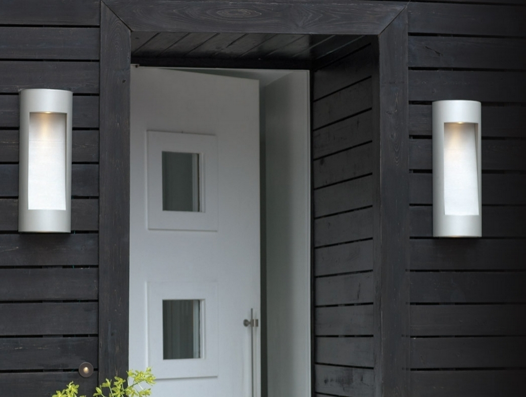 Contemporary Outdoor Wall Lighting Sconces Pertaining To Famous Fave 5 Modern Outdoor Wall Sconces Design Matters Lumens In (View 10 of 20)