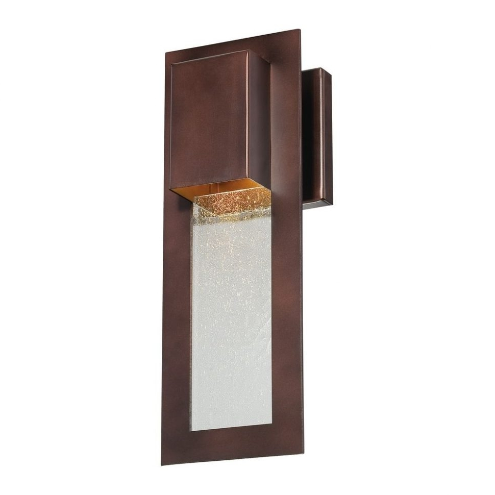 Contemporary Outdoor Wall Lighting Sconces Within Well Known Light : Contemporary Outdoor Wall Lights Photo Exterior Mounted (View 2 of 20)