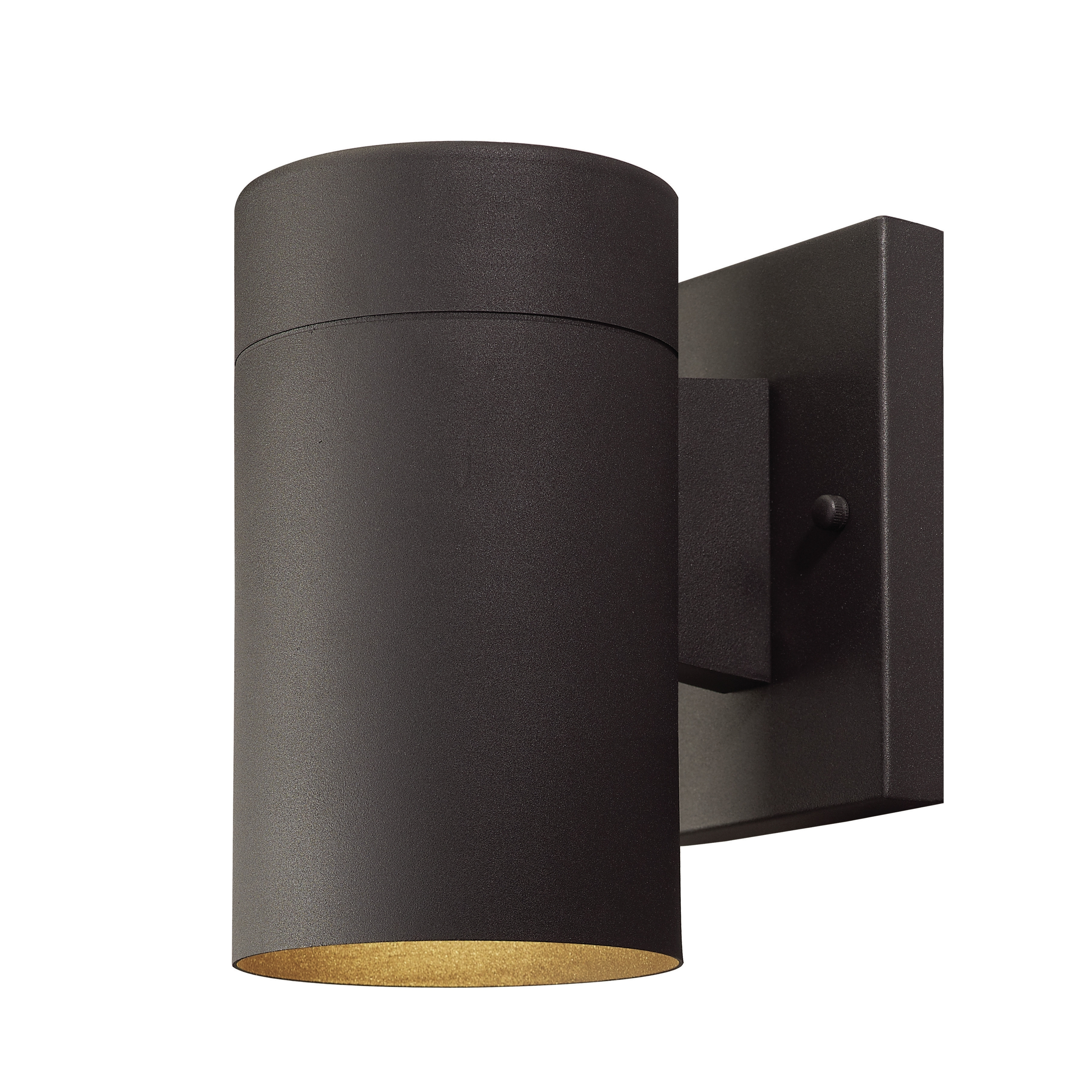 Contemporary Rustic Outdoor Lighting At Wayfair Throughout 2019 Maxim 54362Clabz Civic Contemporary Architectural Bronze Led (View 5 of 20)