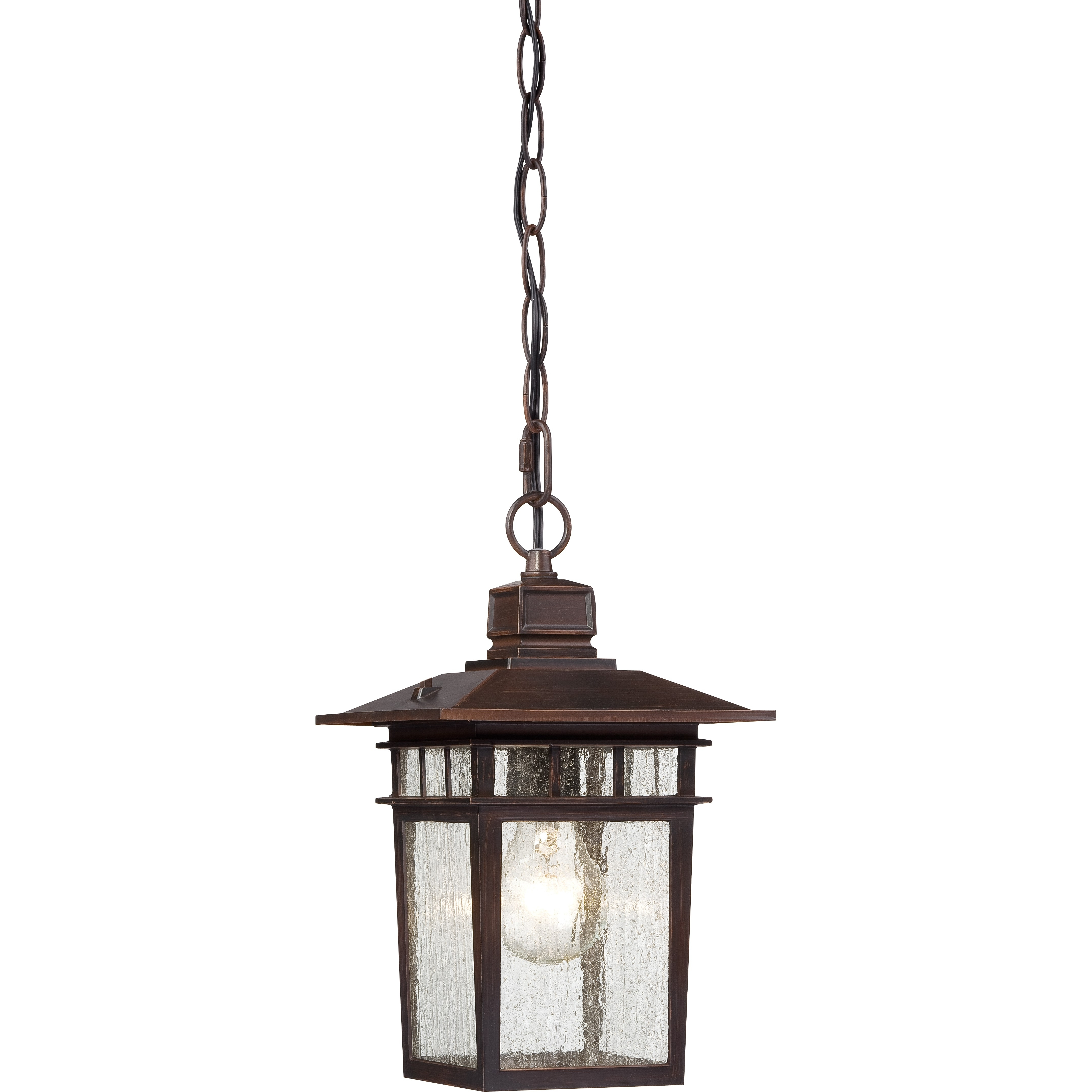 Cove Neck With Rustic Outdoor Hanging Lights (Gallery 17 of 20)