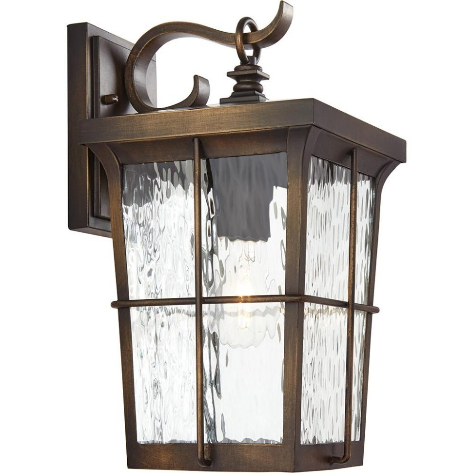 Craftsman Outdoor Wall Lighting Throughout Trendy Lighting : Craftsman Style Outdoor Wall Lighting Porch Lights Front (View 8 of 20)
