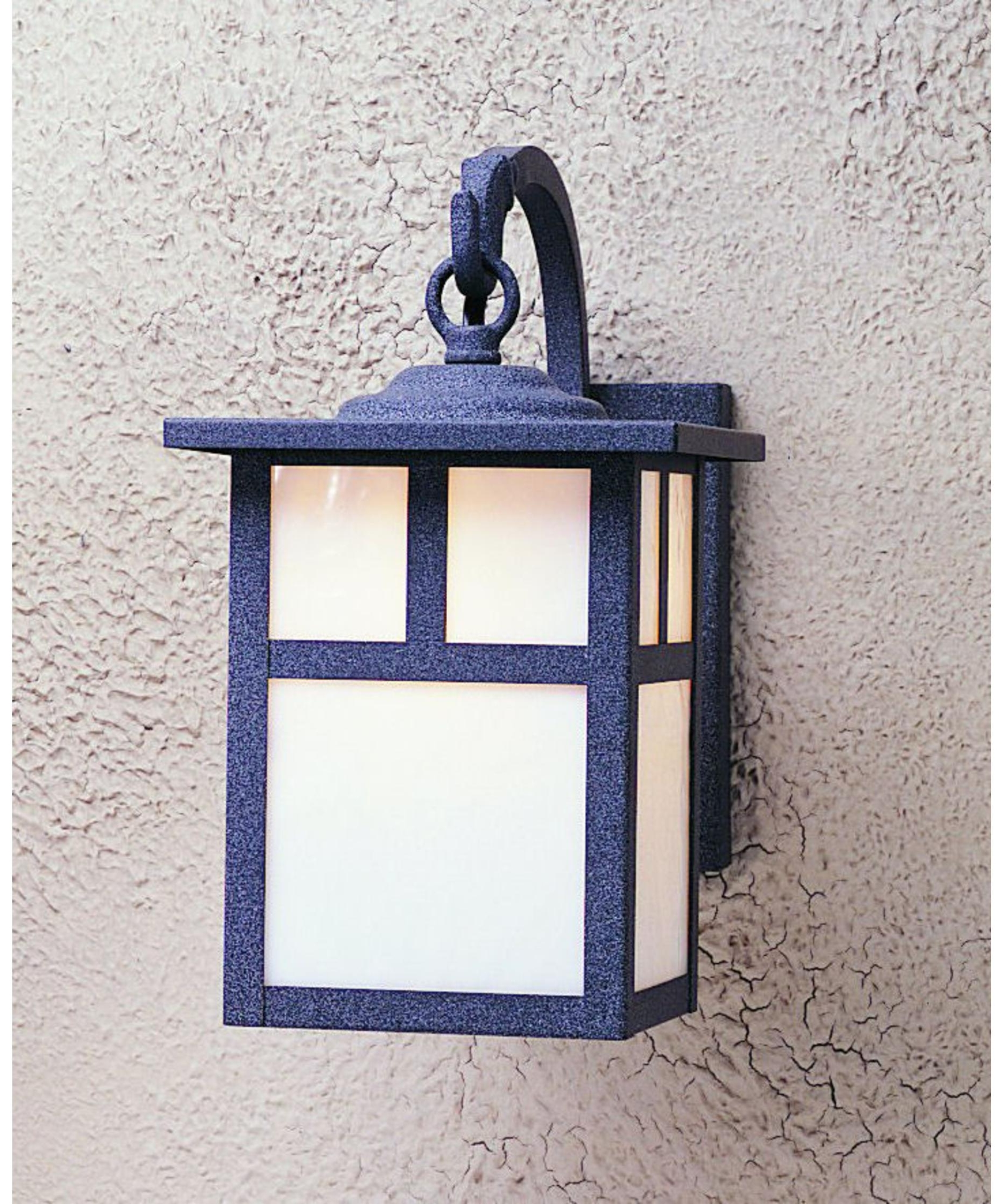 Craftsman Outdoor Wall Lighting Within Well Liked Arroyo Craftsman Mb 7 Mission 7 Inch Wide 1 Light Outdoor Wall Light (View 9 of 20)