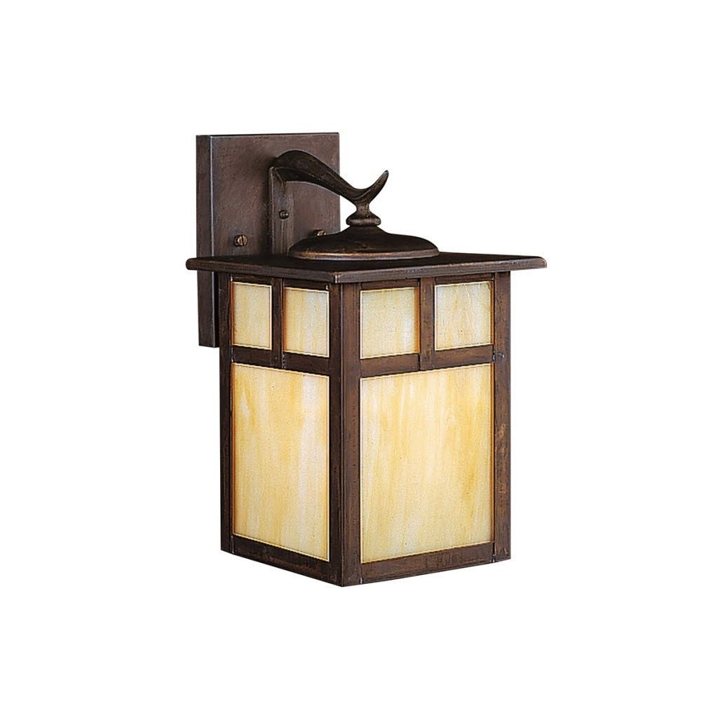 Craftsman Style Outdoor Ceiling Lights Inside Popular Porch Light Fixtures Mission Style Outdoor Lighting (View 3 of 20)