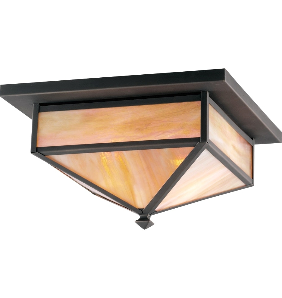 Craftsman Style Outdoor Ceiling Lights Intended For Current Decoration : Flush Crystal Ceiling Lights Craftsman Outdoor Lighting (View 4 of 20)