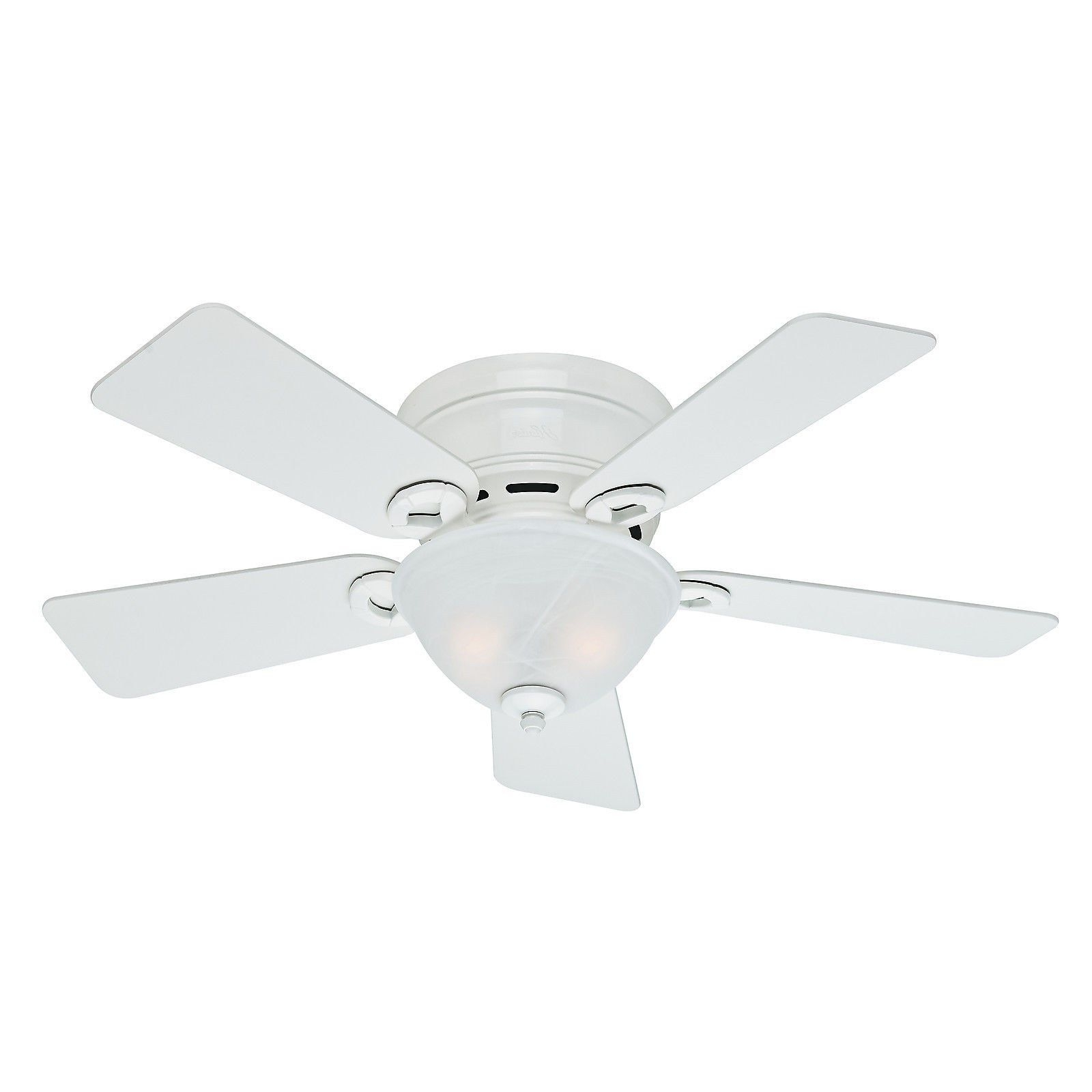 Current Ceiling Fans : Low Profile Ceiling Fan Light Kit Photo White With With Low Profile Outdoor Ceiling Lights (Gallery 9 of 20)