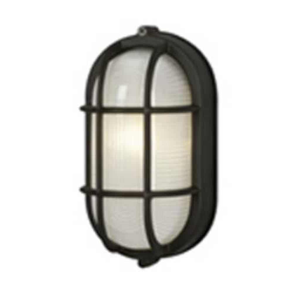 Current Cheap Outdoor Wall Lighting Regarding Marine Oval Bulkhead Outdoor Wall Light (View 7 of 20)