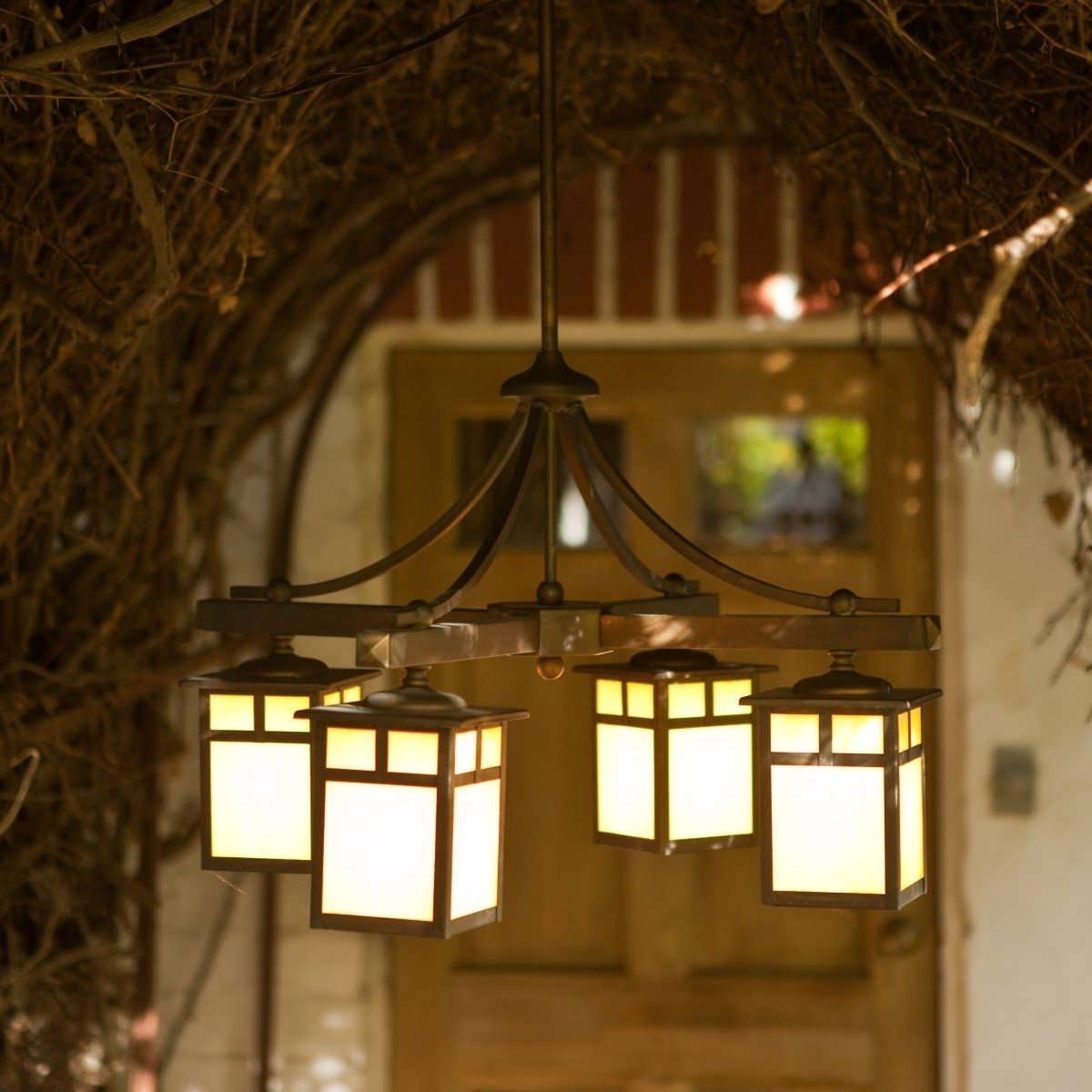 Current Light : Gazebo Lighting Ideas Chandelier Patio Lights Outside Garage Pertaining To Outdoor Hanging Lights For Porch (View 11 of 20)