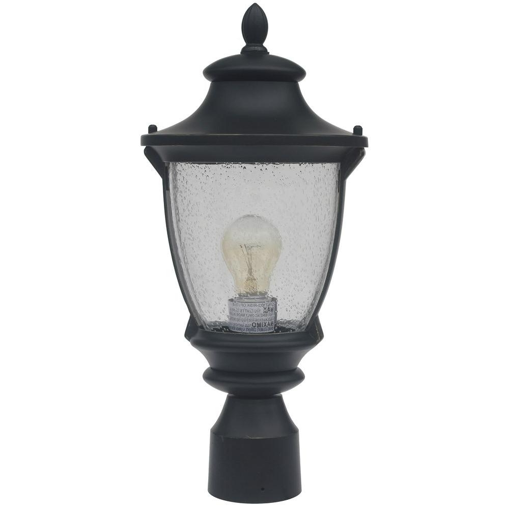 Current Modern Led Post Lights At Home Depot Regarding Home Decorators Collection – Post Lighting – Outdoor Lighting – The (View 10 of 20)
