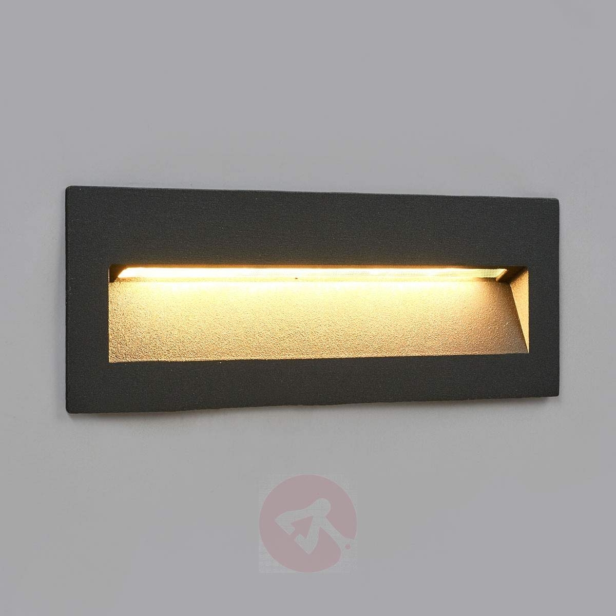 Dark Led Recessed Light Loya For Outdoor Walls (View 4 of 20)