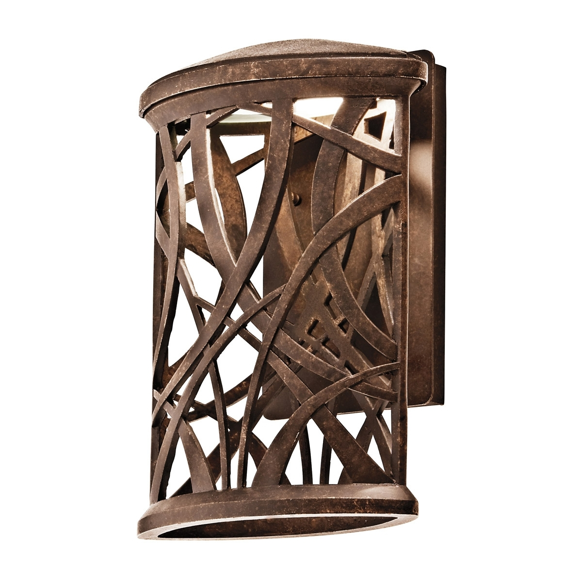 Dark Sky Outdoor Wall Lighting With Regard To Most Up To Date 49249Agzled Maya Palm Energy Efficient Dark Sky Outdoor Wall Sconce (View 5 of 20)
