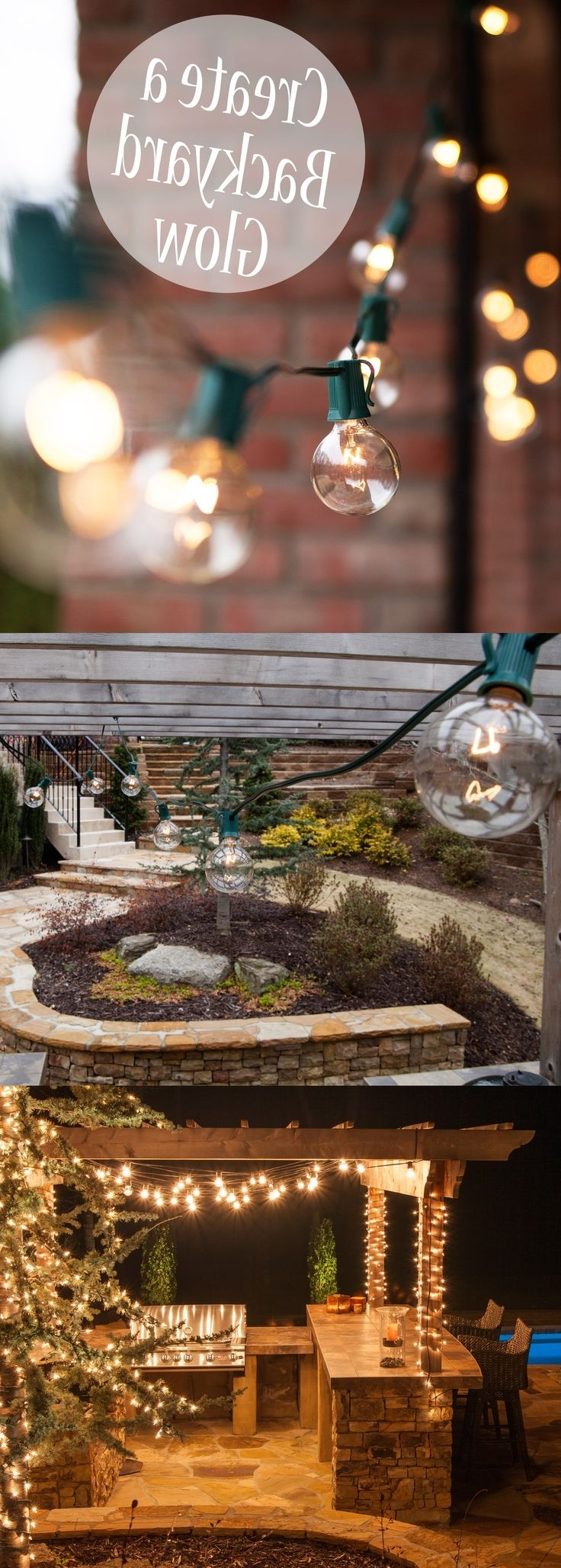 Decks For Popular Outdoor Hanging String Lights From Australia (Gallery 15 of 20)