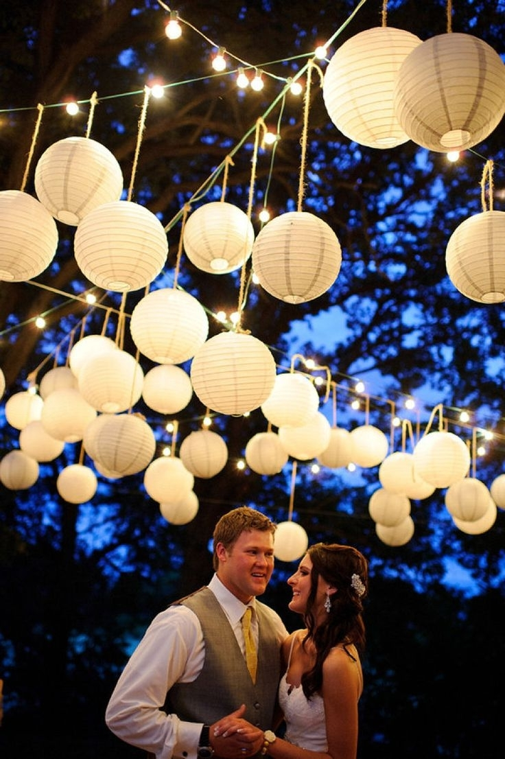 Decoration : Outdoor Post Lantern Red Lantern String Lights String Inside Newest Outdoor Hanging Paper Lantern Lights (View 20 of 20)