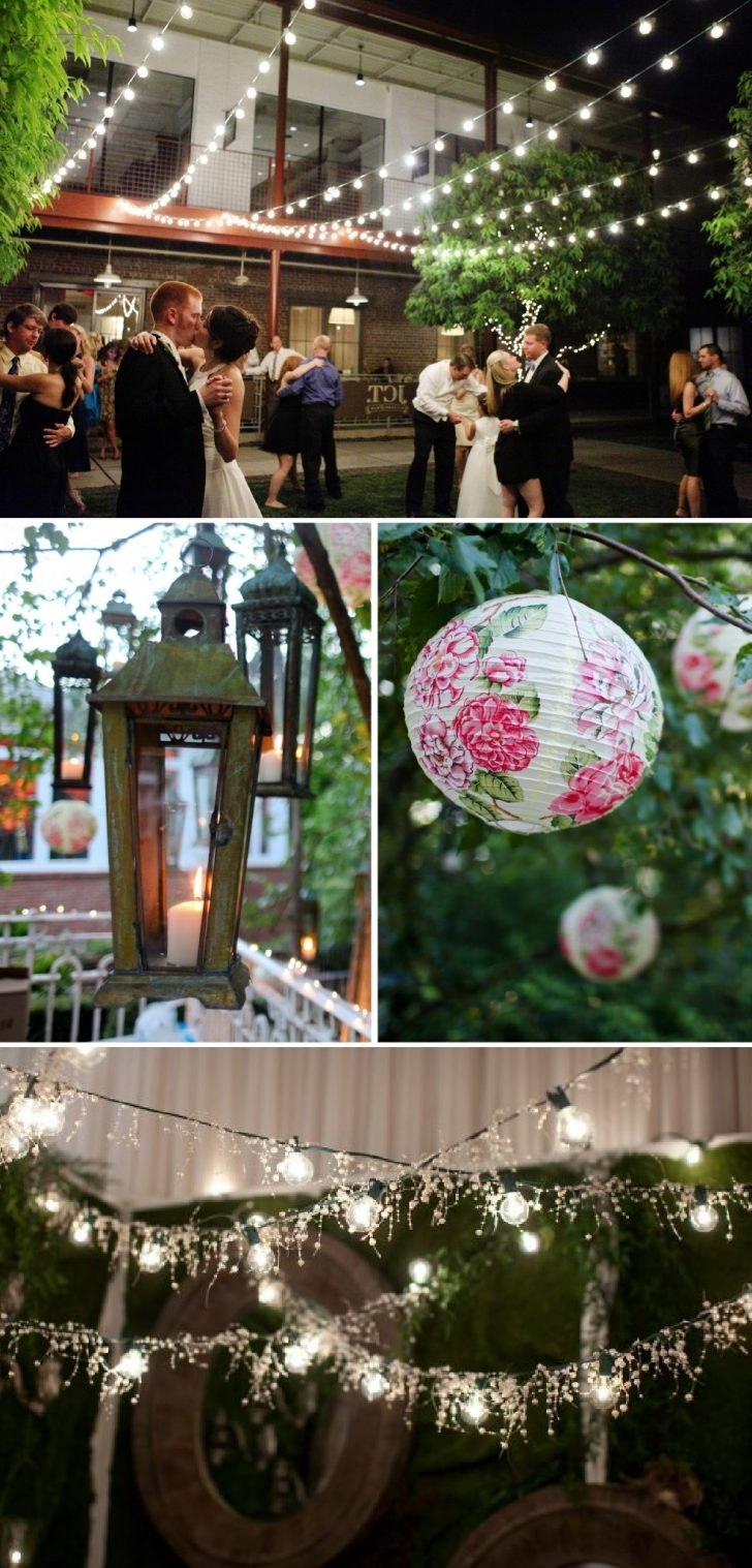 Decoration : Unique Paper Lanterns Outdoor Chinese Lanterns For Pertaining To Recent Outdoor Hanging Lanterns For Wedding (Gallery 4 of 20)