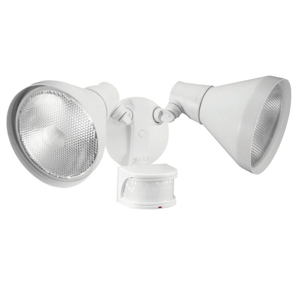 Defiant 110 Degree White Motion Sensing Outdoor Security Light Df Throughout Most Popular Outdoor Ceiling Security Lights (Gallery 11 of 20)