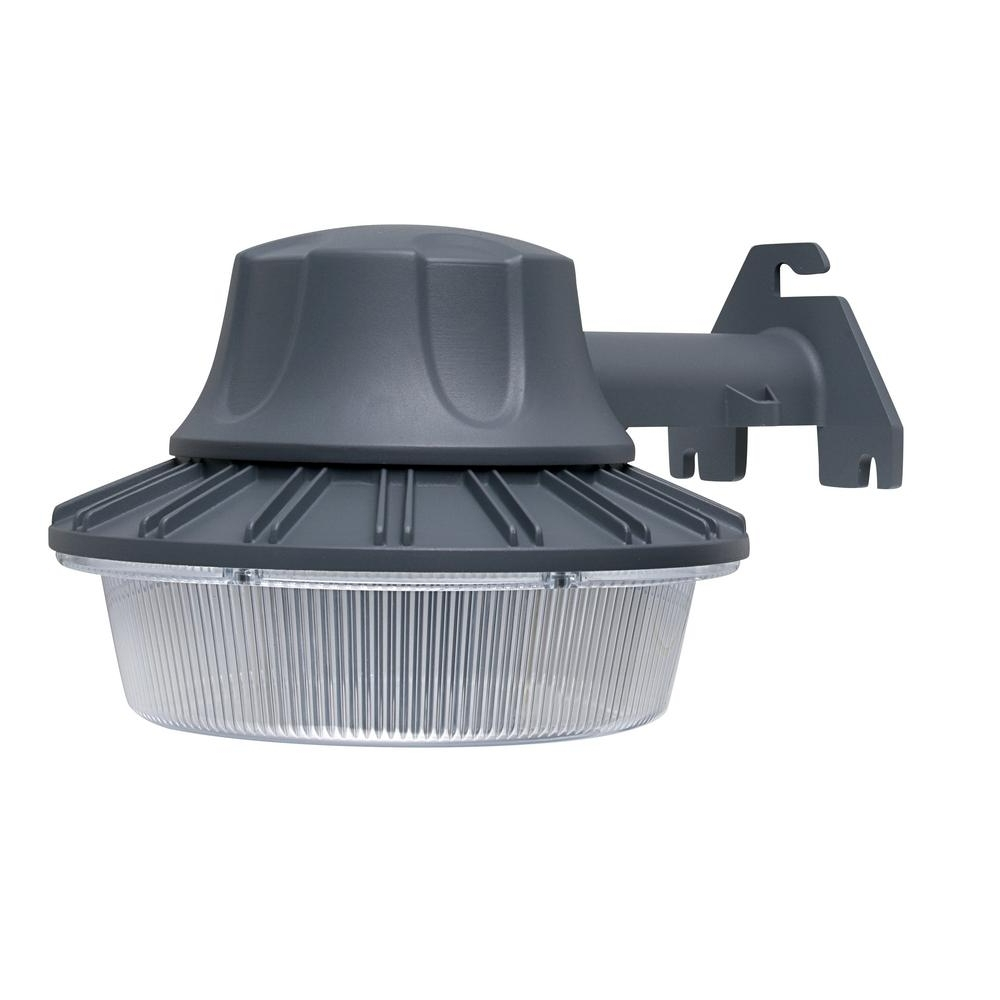 Defiant Wall/pole Mount Area Light Outdoor Led With Dusk To Dawn Regarding Widely Used Dusk To Dawn Outdoor Wall Mounted Lighting (Gallery 20 of 20)