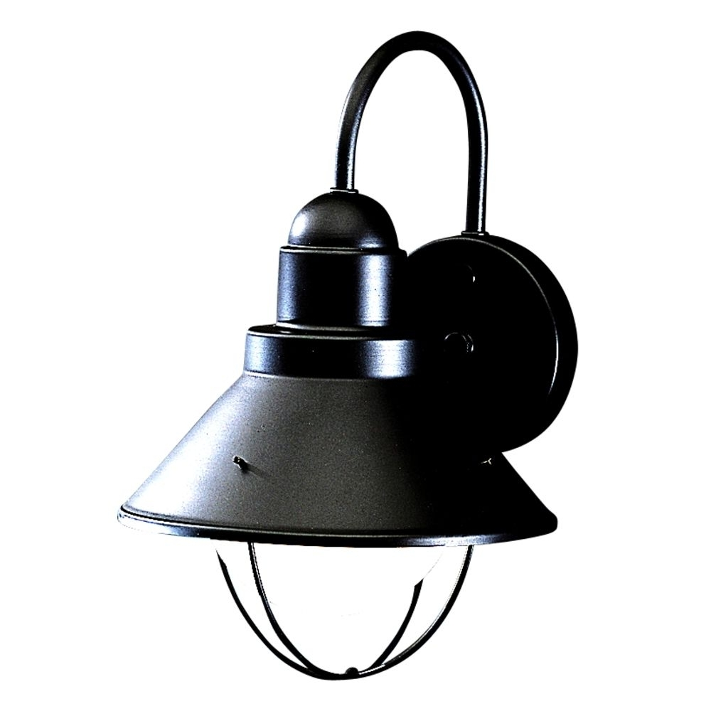Destination For Latest Black Outdoor Wall Lighting (Gallery 14 of 20)