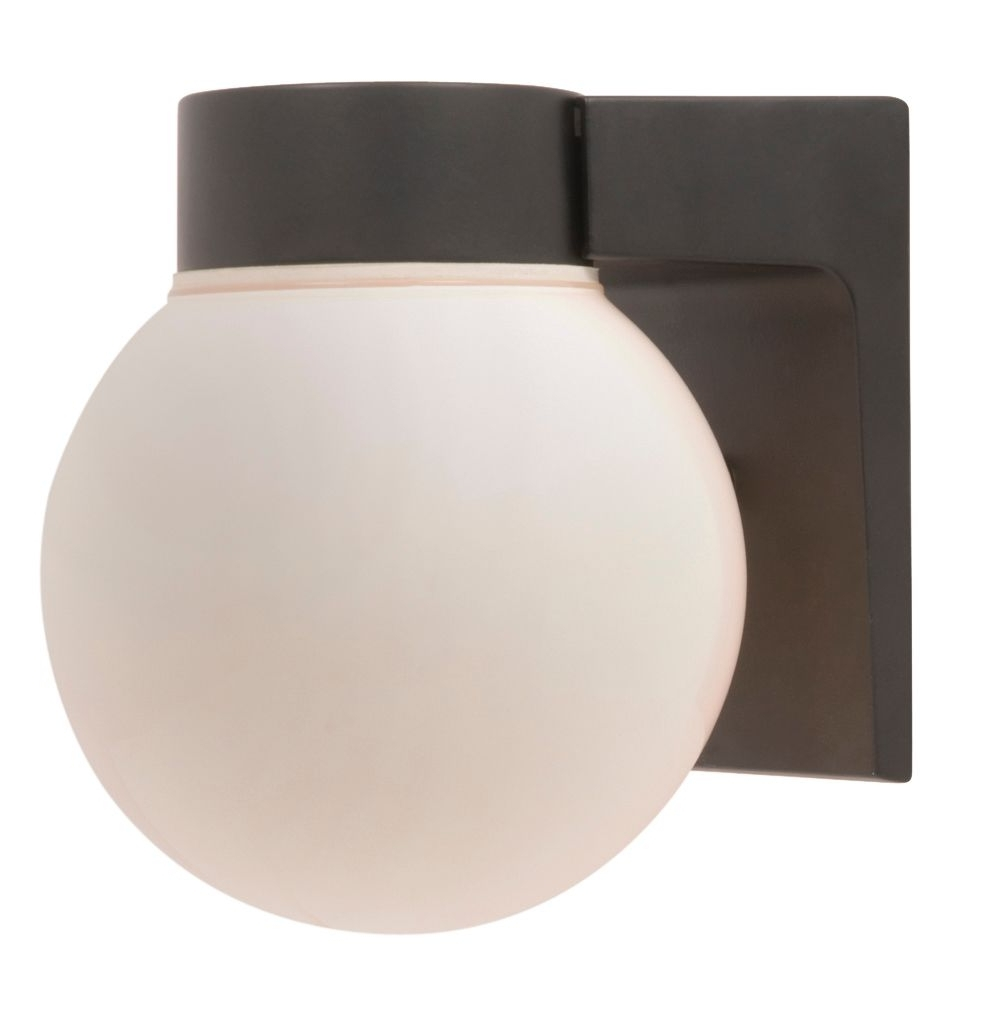 Diy At With Regard To Most Popular Outside Wall Globe Lights (View 6 of 20)
