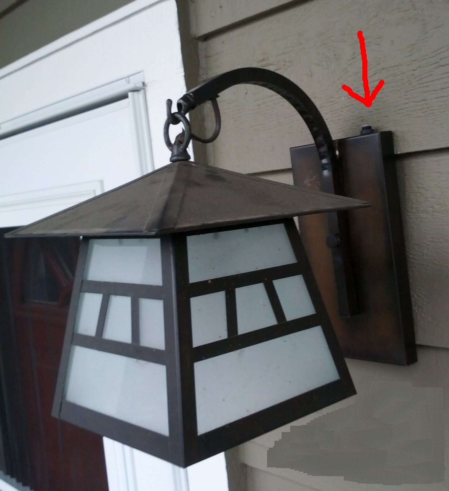 Diy Battery Operated Wall Mounted Outdoor Lights Lighting Ed Intended For Well Known