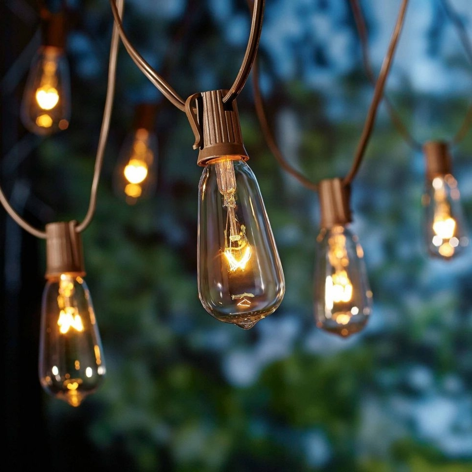 Diy : Better Homes And Gardens Outdoor Glass Edison String Lights Within Most Up To Date Outdoor Hanging Light Balls (View 4 of 20)