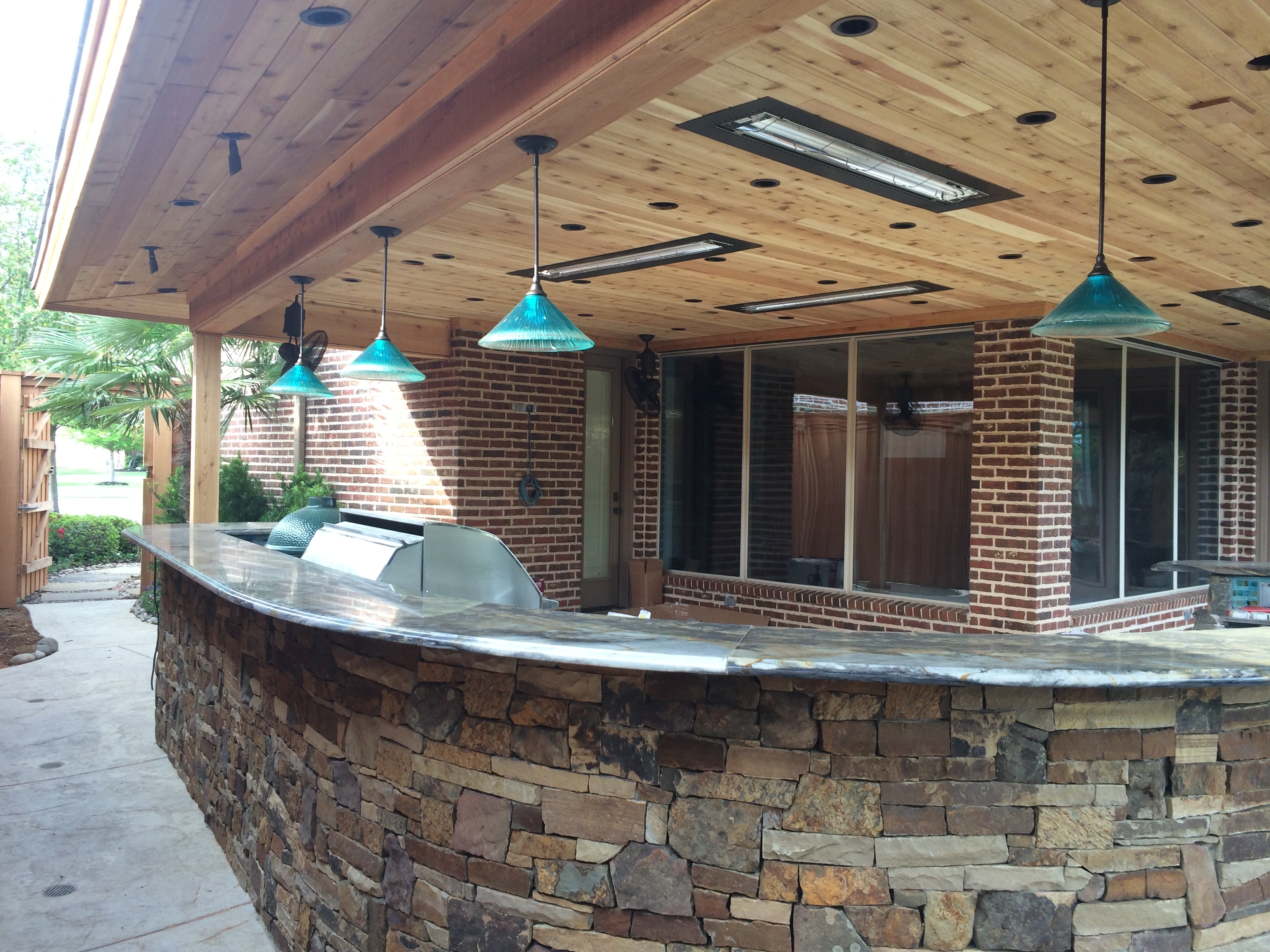 Diy : Exterior Exotic Outdoor Patio Lighting Ideas Plus Hanging Bar For 2018 Outdoor Hanging Bar Lights (View 3 of 20)