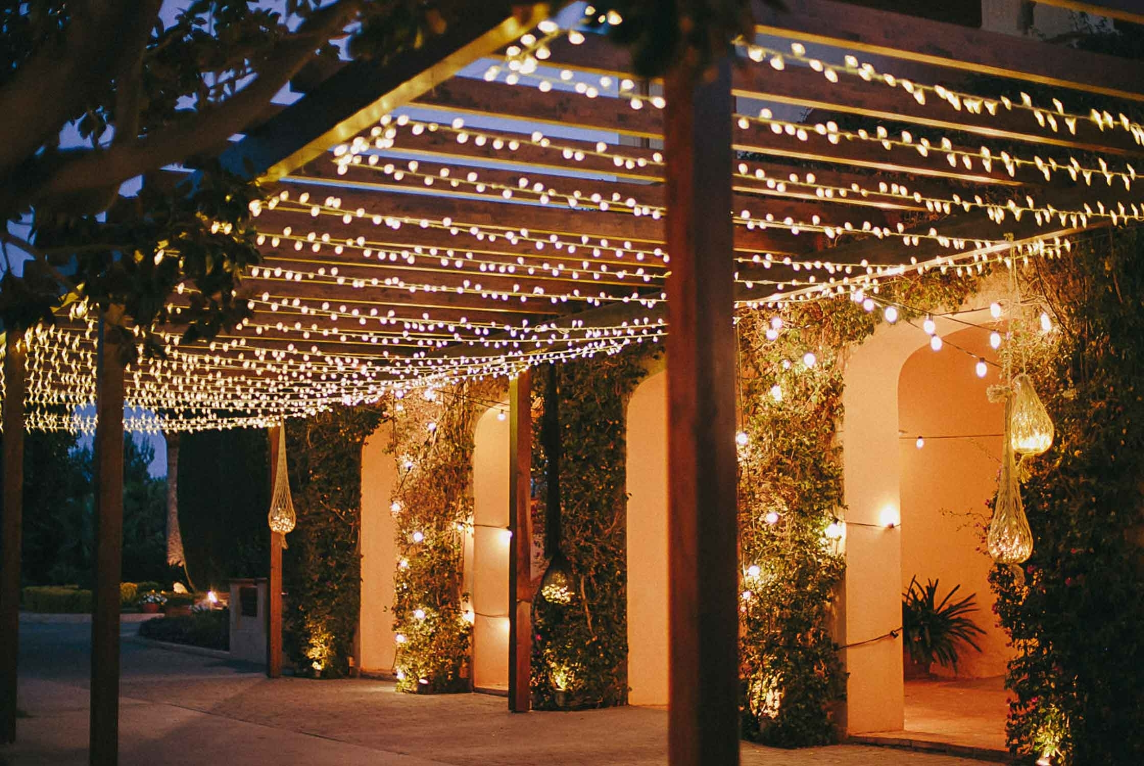 Diy : Garden Lighting Ideas Inspiration Outdoor Hanging Lights For Pertaining To 2018 Outdoor Hanging Lights For Pergola (View 20 of 20)