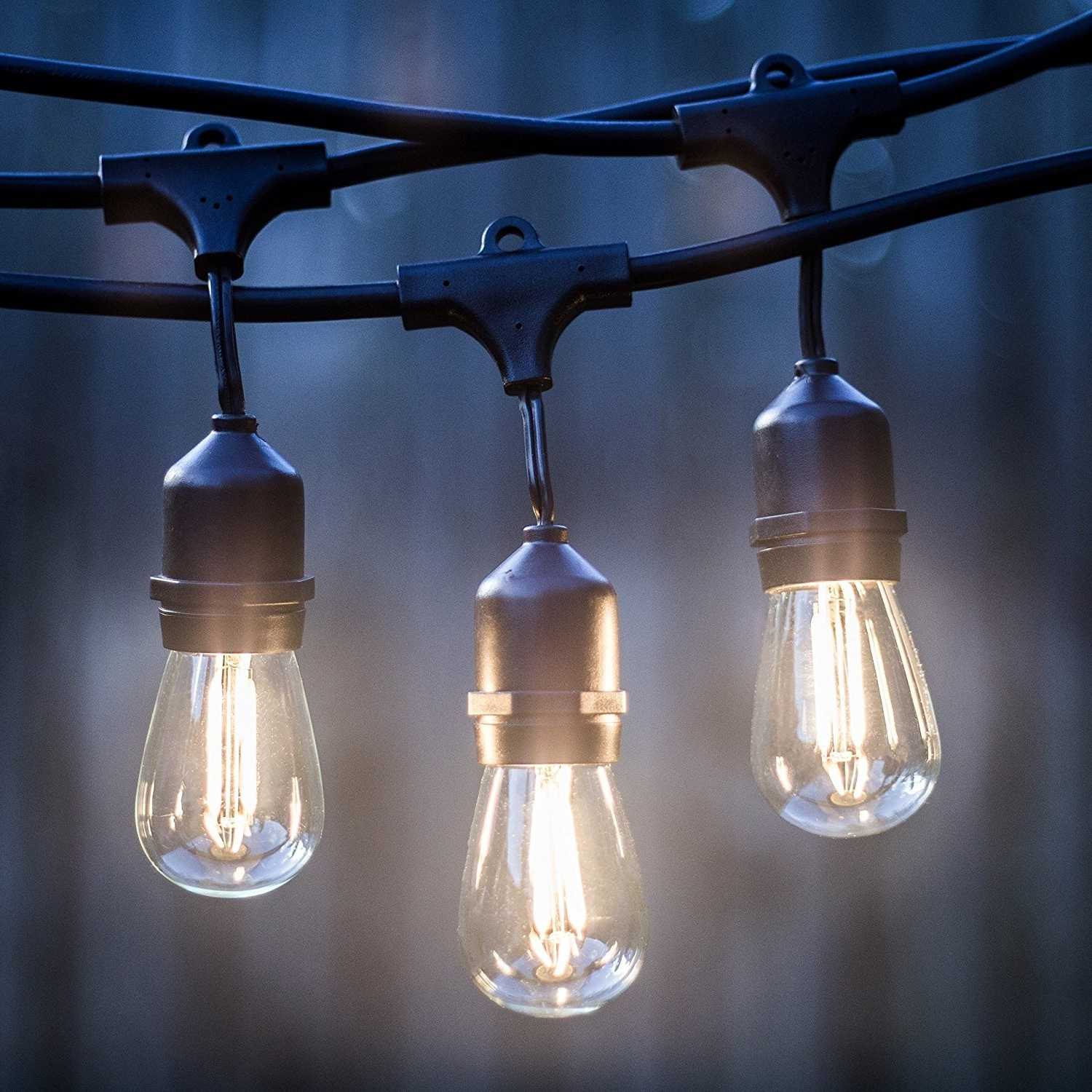 Diy : Led Outdoor String Lights Listed Hanging Sockets Watt With 2019 Outdoor Hanging Lights At Bunnings (View 4 of 20)