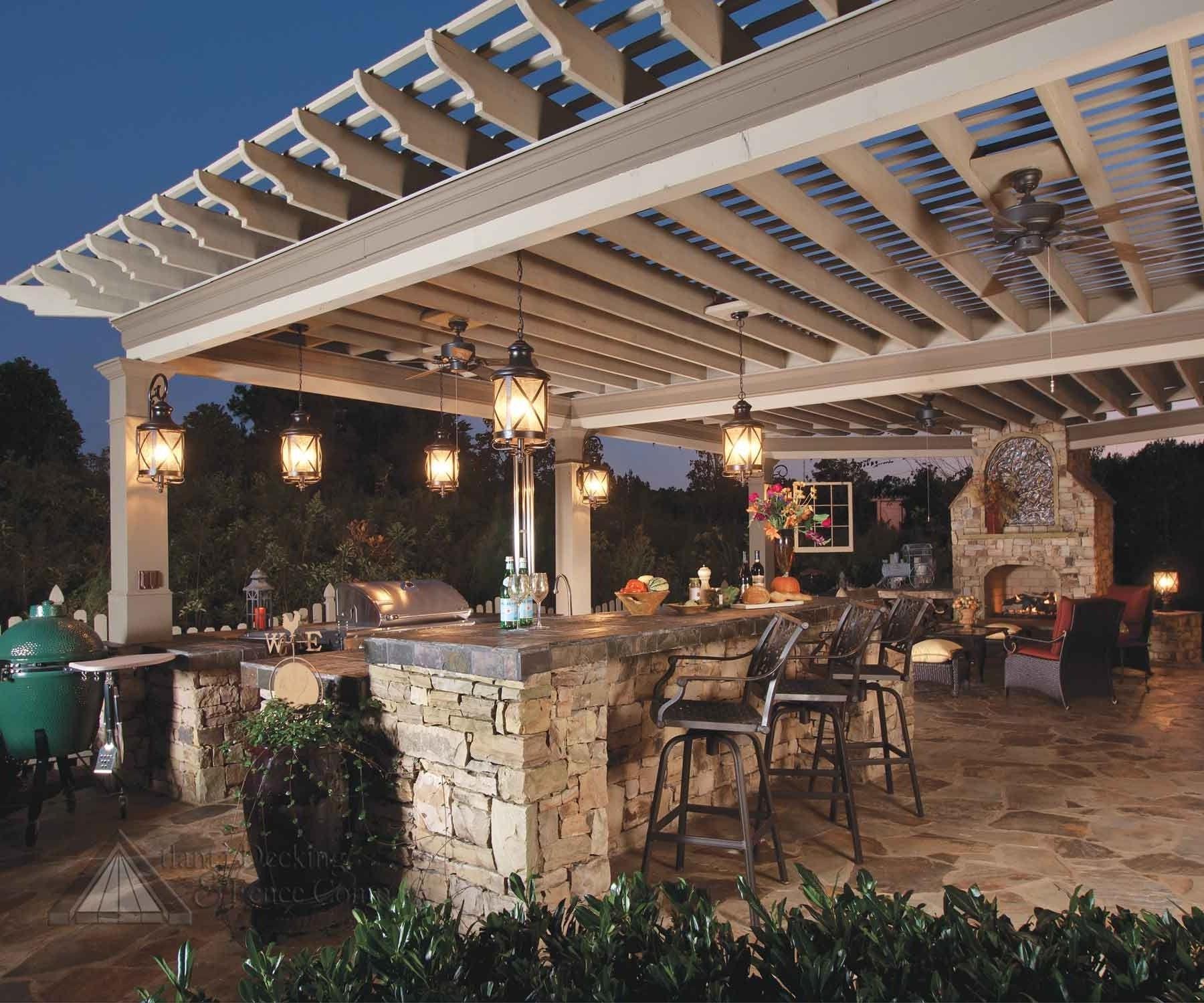 Diy Outdoor Hanging Lights – Outdoor Designs With Recent Diy Outdoor Ceiling Lights (View 17 of 20)