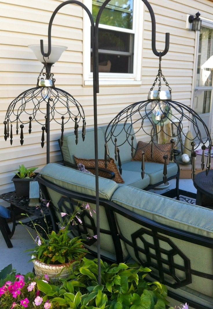 Diy Outdoor Hanging Lights With Favorite 20 Crazy Ways To Light Up Your Backyard (View 19 of 20)
