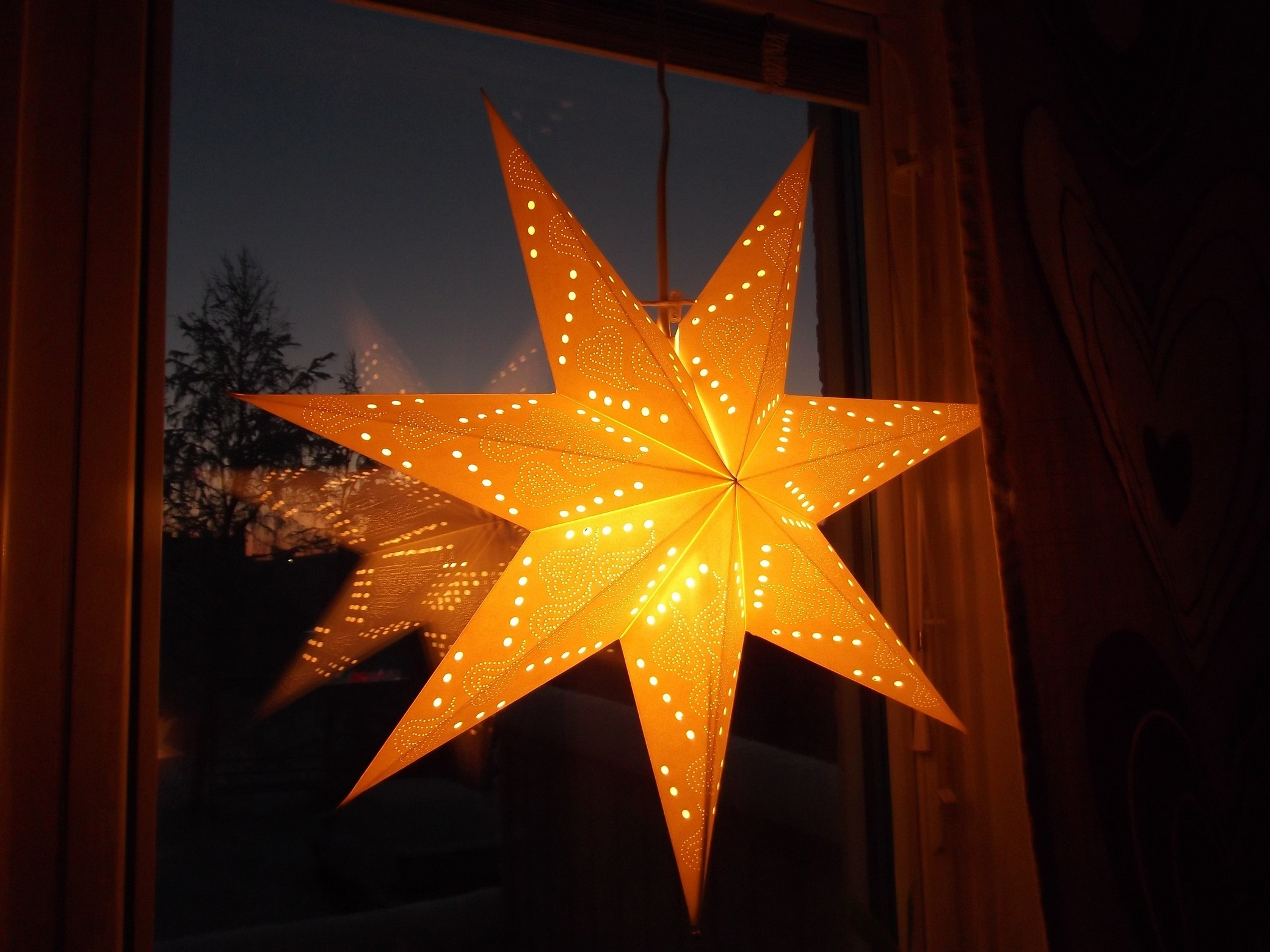 Diy Paper Star Lantern Pattern Within Well Known Outdoor Hanging Star Lanterns (Gallery 6 of 20)