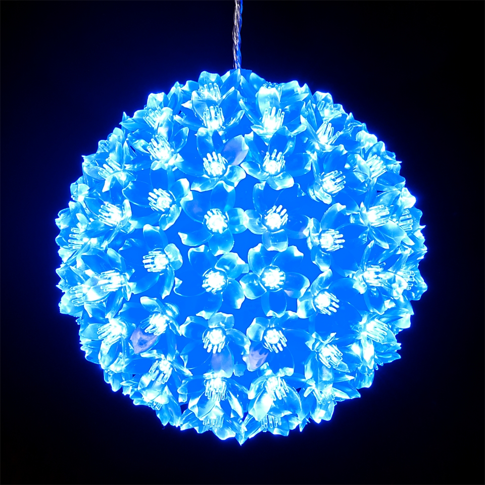 Diy : Solar String Lights Starry Light Outdoor Ball Christmas Throughout Best And Newest Outdoor Hanging Christmas Light Balls (View 7 of 20)