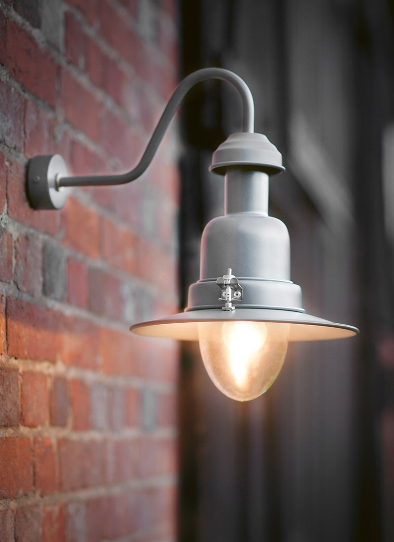 Diy : Wall Mounted Fishing Lamp Charcoal Steel Garden Trading Wickes Intended For Most Popular Argos Outdoor Wall Lighting (View 16 of 20)