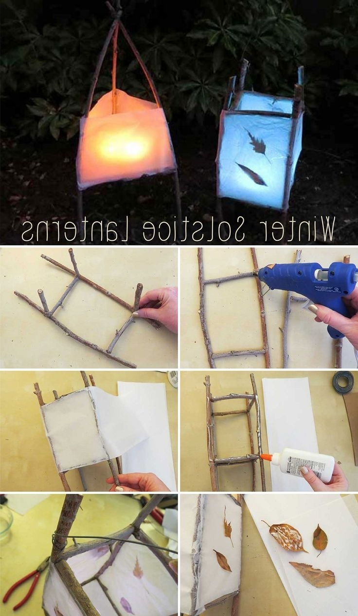 Diy Winter Solstice Lanterns (View 1 of 20)