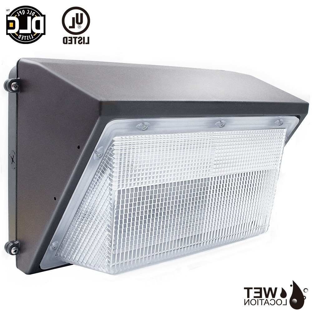 Dlc Qualified Led Wall Pack Light Fixture (45W/70W) – Torchstar Throughout Well Liked Outdoor Wall Pack Lighting (Gallery 19 of 20)
