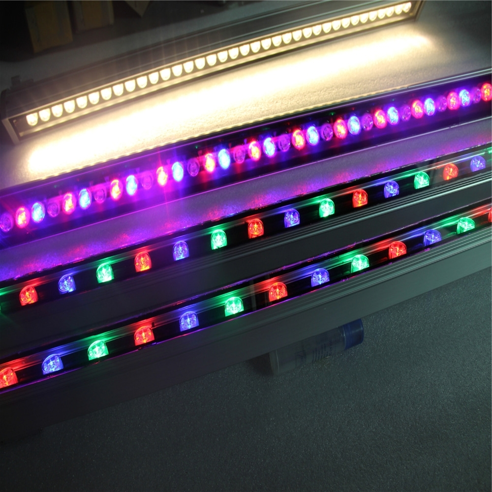 Dmx Controller Rgb Led Wall Washer Light 36W Led Reflector Within Famous Outdoor Wall Washer Led Lights (Gallery 19 of 20)