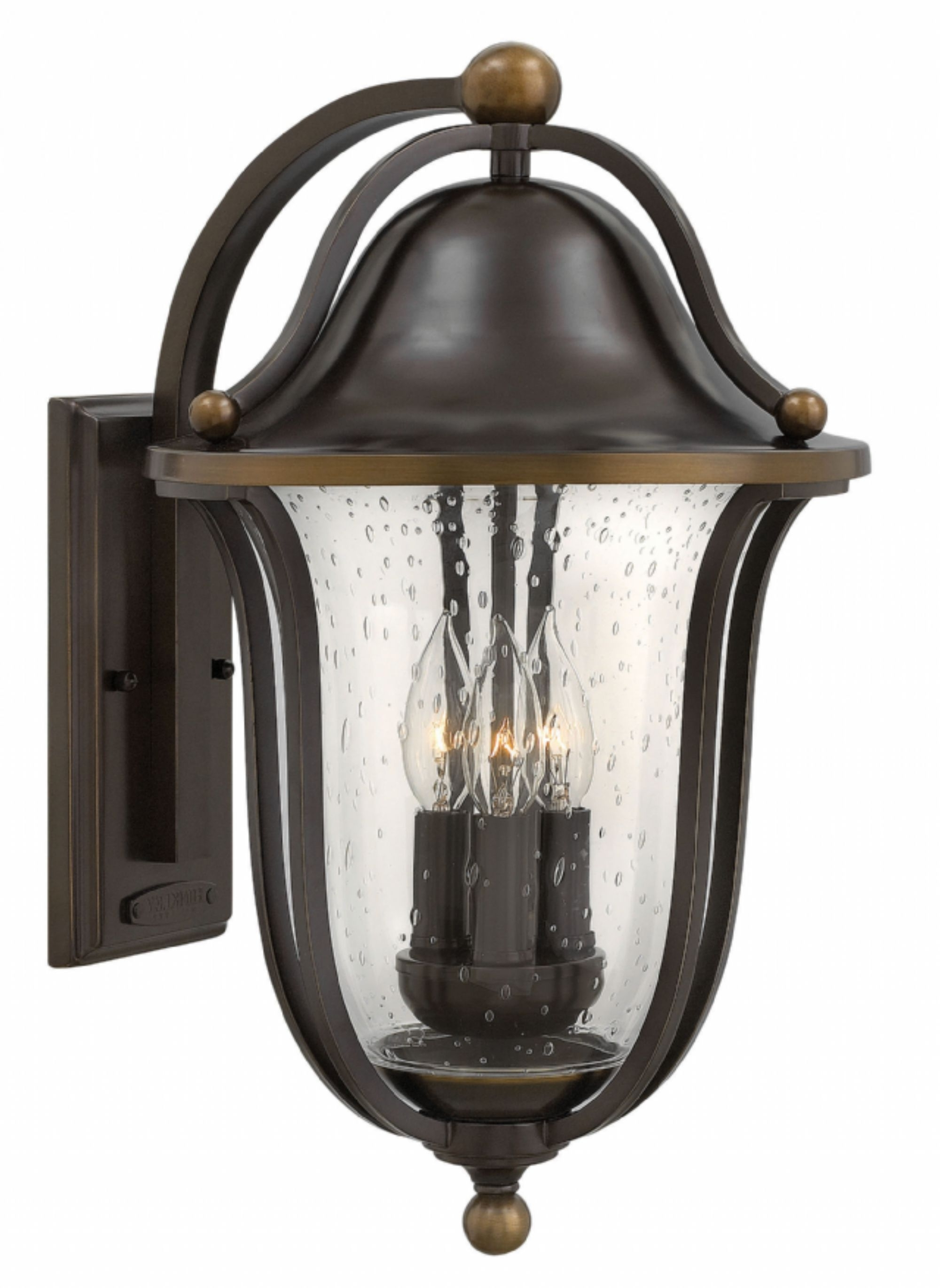 Double Wall Mount Hinkley Lighting With Regard To Latest Olde Bronze Bolla > Exterior Wall Mount (View 9 of 20)