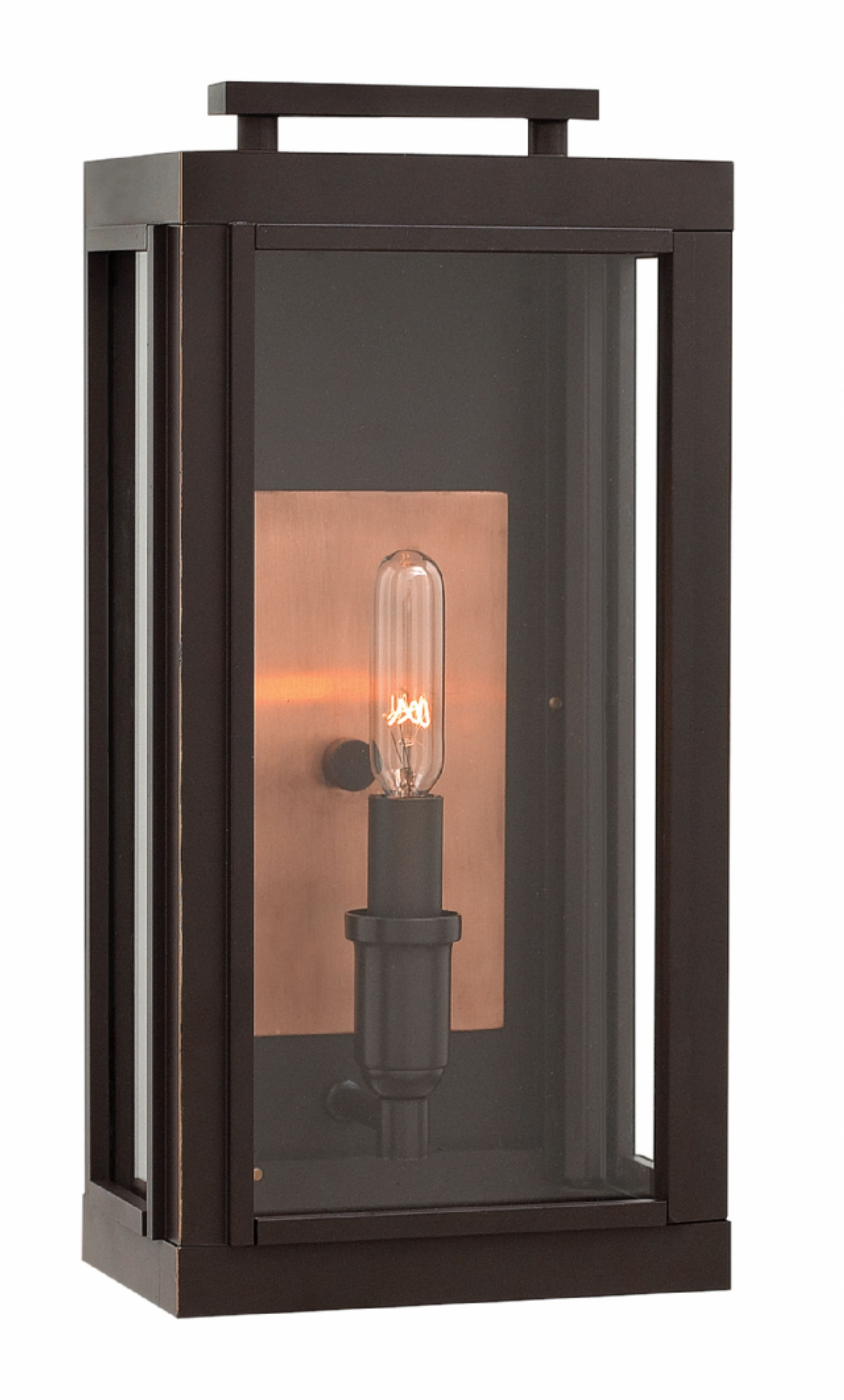 Double Wall Mount Hinkley Lighting Within Fashionable Oil Rubbed Bronze Sutcliffe > Exterior Wall Mount (View 13 of 20)