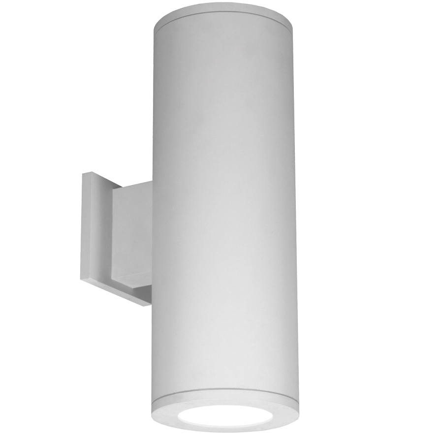 "Ds Wd06 Tube Architectural 6"" Led Wall Mount, Double Sided With Famous Architectural Outdoor Wall Lighting (Gallery 20 of 20)"