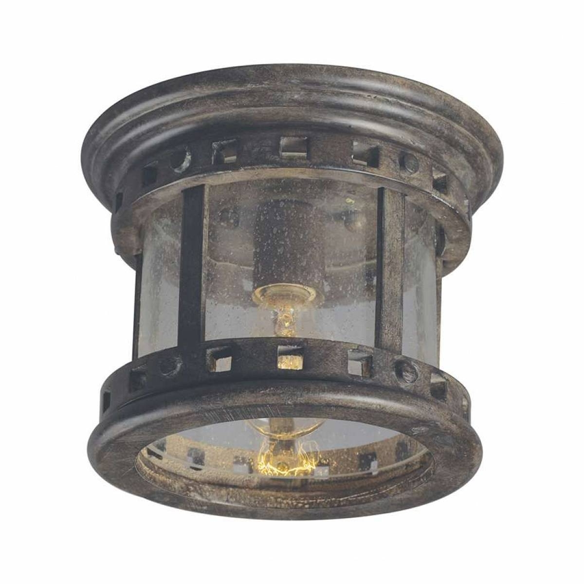 Dusk To Dawn Outdoor Ceiling Lights For 2018 Light : Antique Drum Outdoor Ceiling Lights For Porch Beautiful (Gallery 12 of 20)