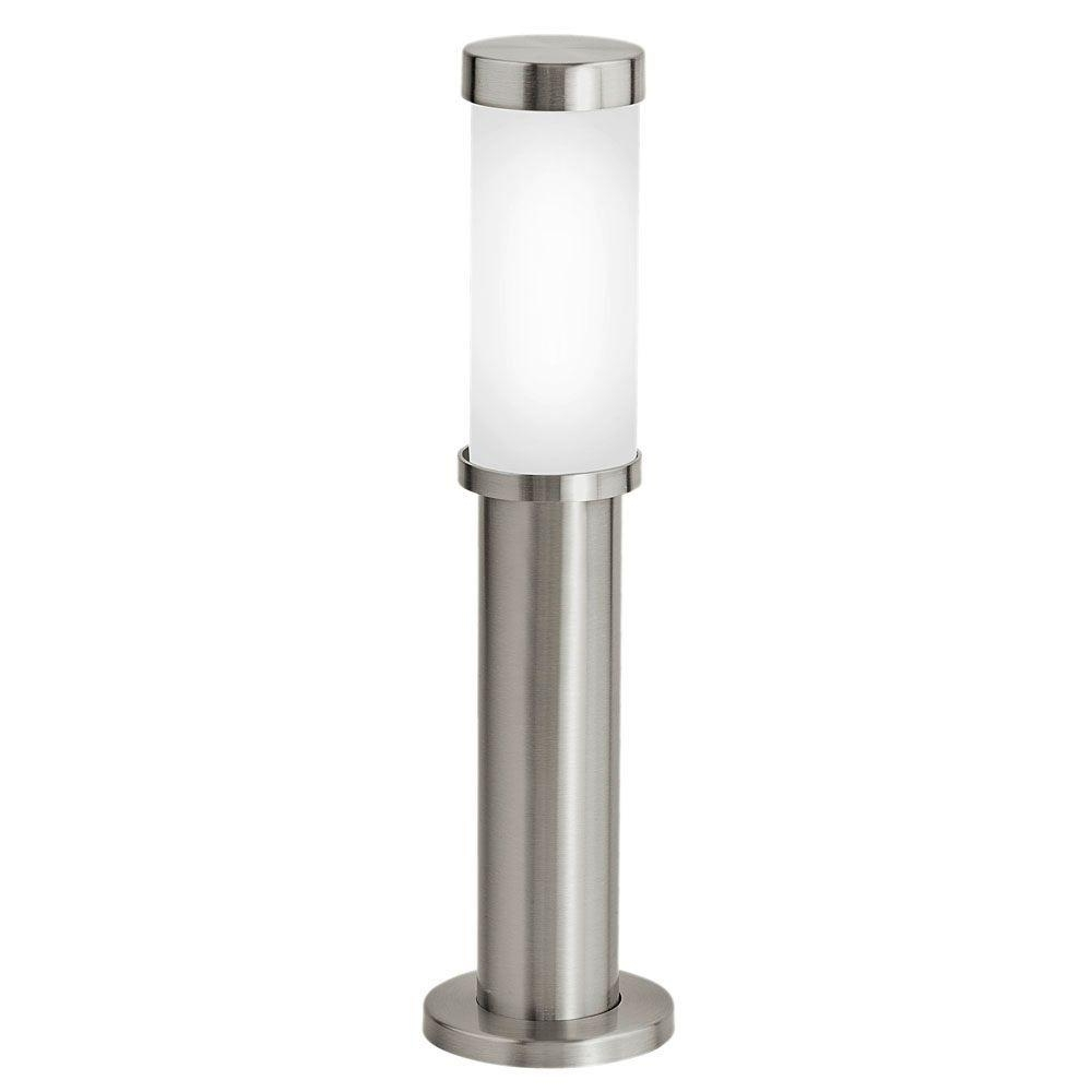 Eglo Konya 1 Light Outdoor Stainless Steel Floor Lamp 86248A – The Throughout Preferred Eglo Outdoor Lighting (View 3 of 20)