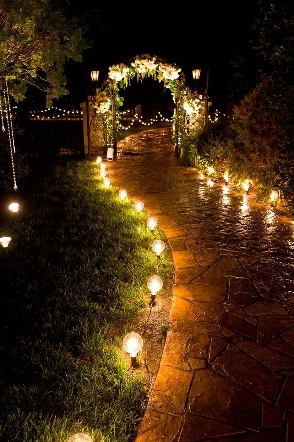 Electric Outdoor Lighting Garden Throughout Most Recently Released Decoration : Outdoor Lights For Sale Led Outdoor Landscape Lighting (View 10 of 20)