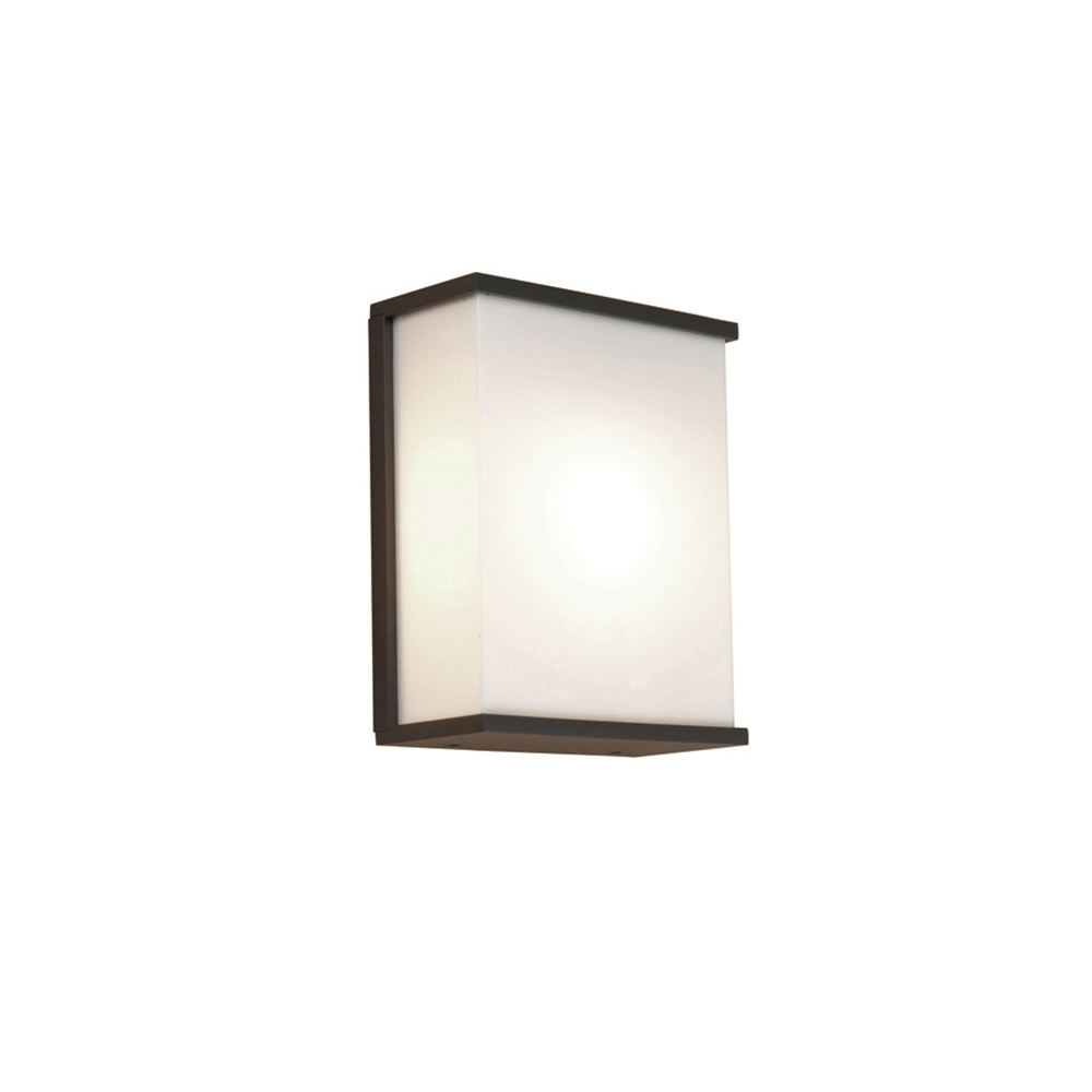 Elstead Lighting Azure Low Energy 5 Dark Grey Outdoor Wall Light Within Recent Grey Outdoor Wall Lights (View 3 of 20)