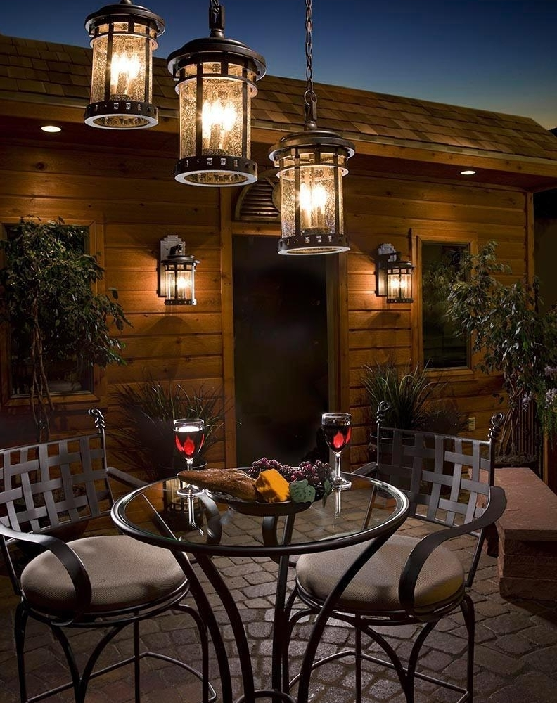 Encouraging Hassle Free Long Lasting Nylon Along With Polypropylene Intended For Latest Outdoor Hanging Lights For Patio (View 3 of 20)