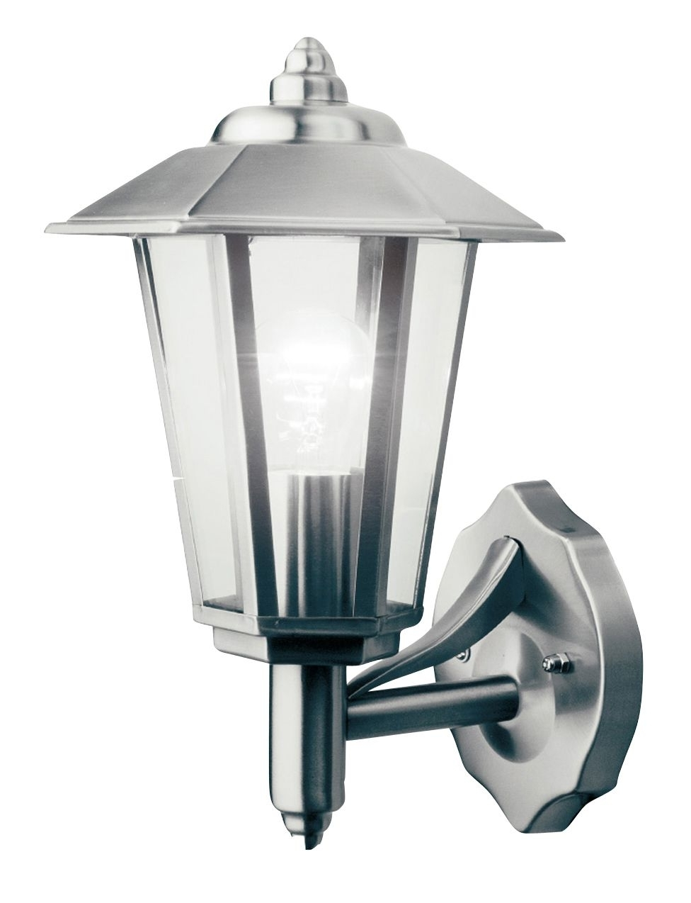 Endon Lighting Outdoor Wall Lanterns With Most Popular Newport Mains Powered External Wall Lantern (View 6 of 20)