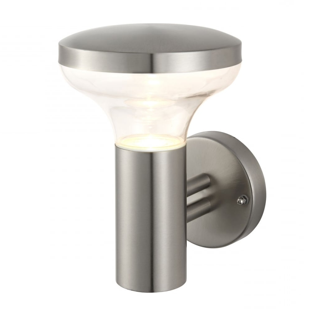 Endon Roko Outdoor Wall Light In Marine Grade Stainless Steel Finish Inside Favorite Marine Grade Outdoor Wall Lights (View 5 of 20)