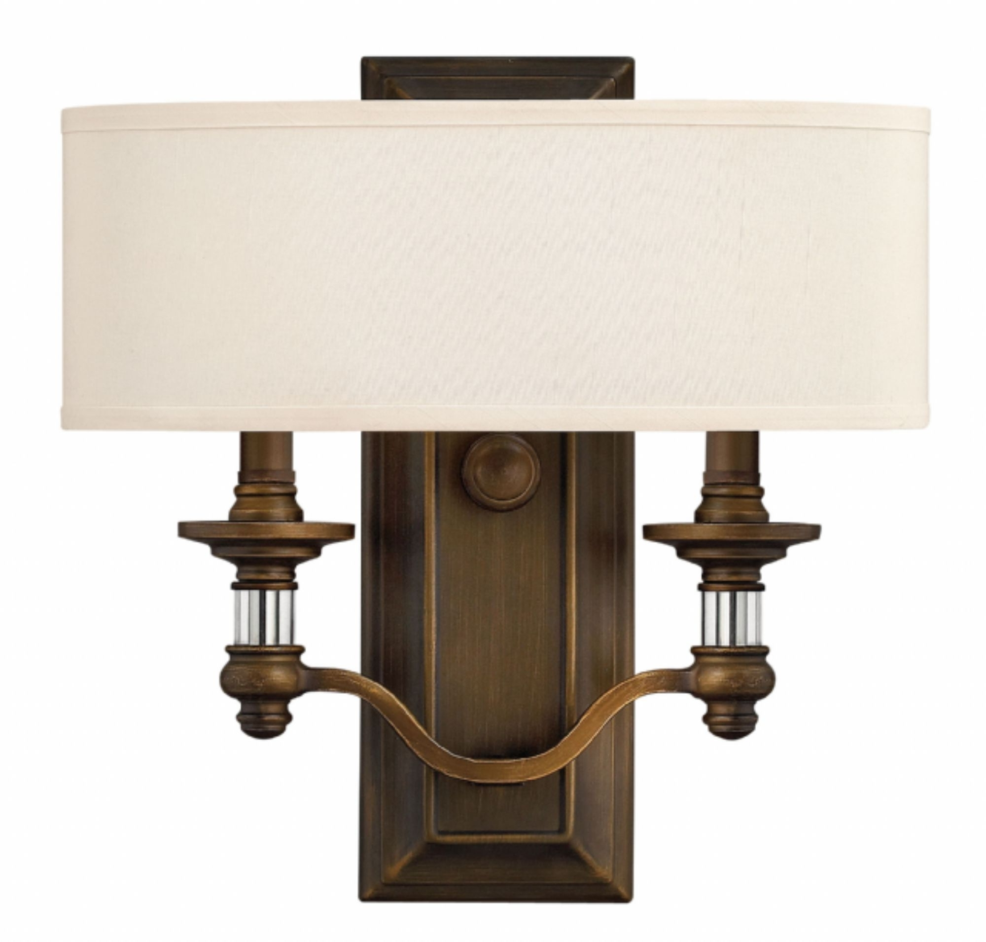 English Bronze Sussex > Interior Wall Mount In 2018 Double Wall Mount Hinkley Lighting (View 7 of 20)