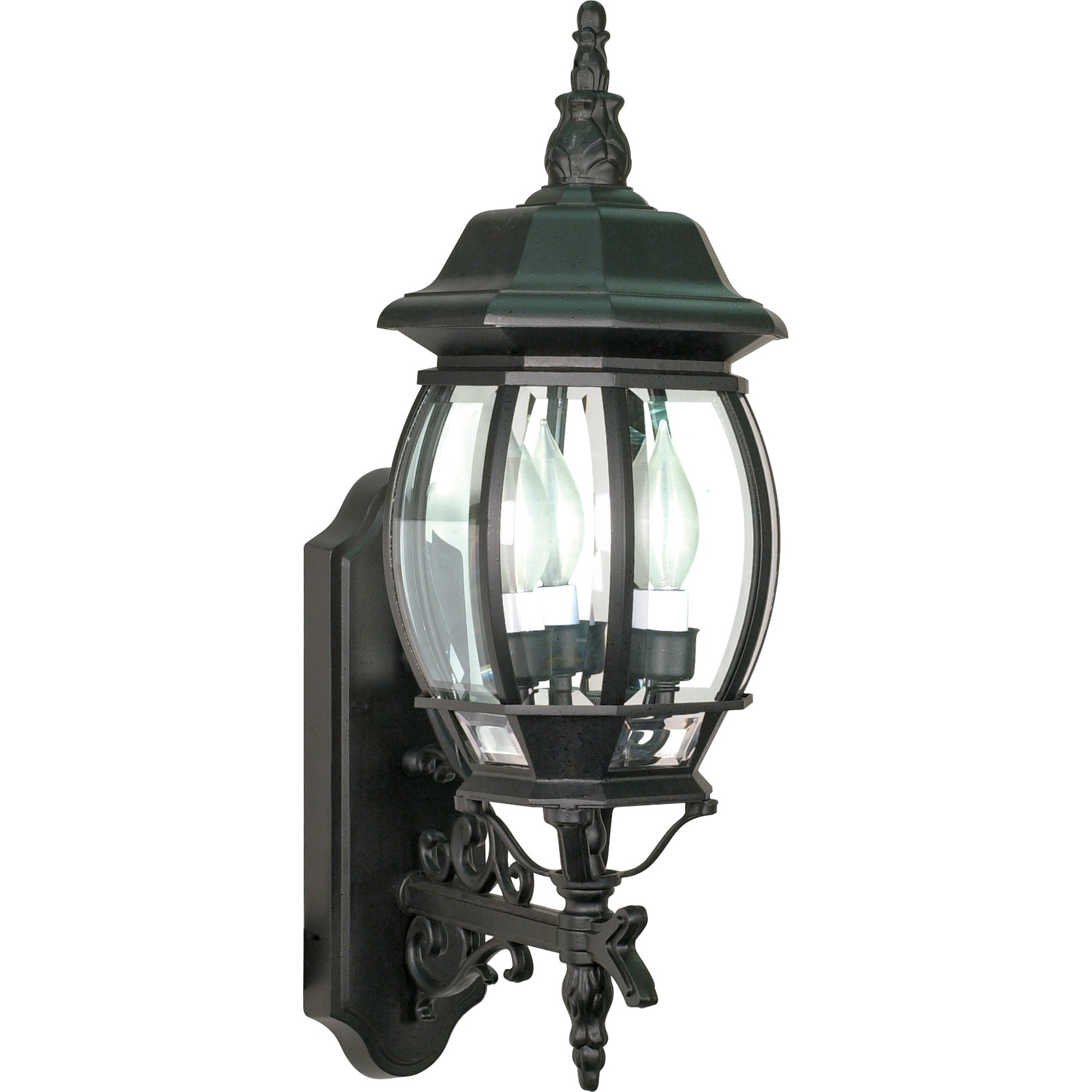 Entertainment : Nuvo Light Large Outdoor Wall Lantern Central Park Within Well Known Outdoor Wall Lighting At Houzz (View 8 of 20)