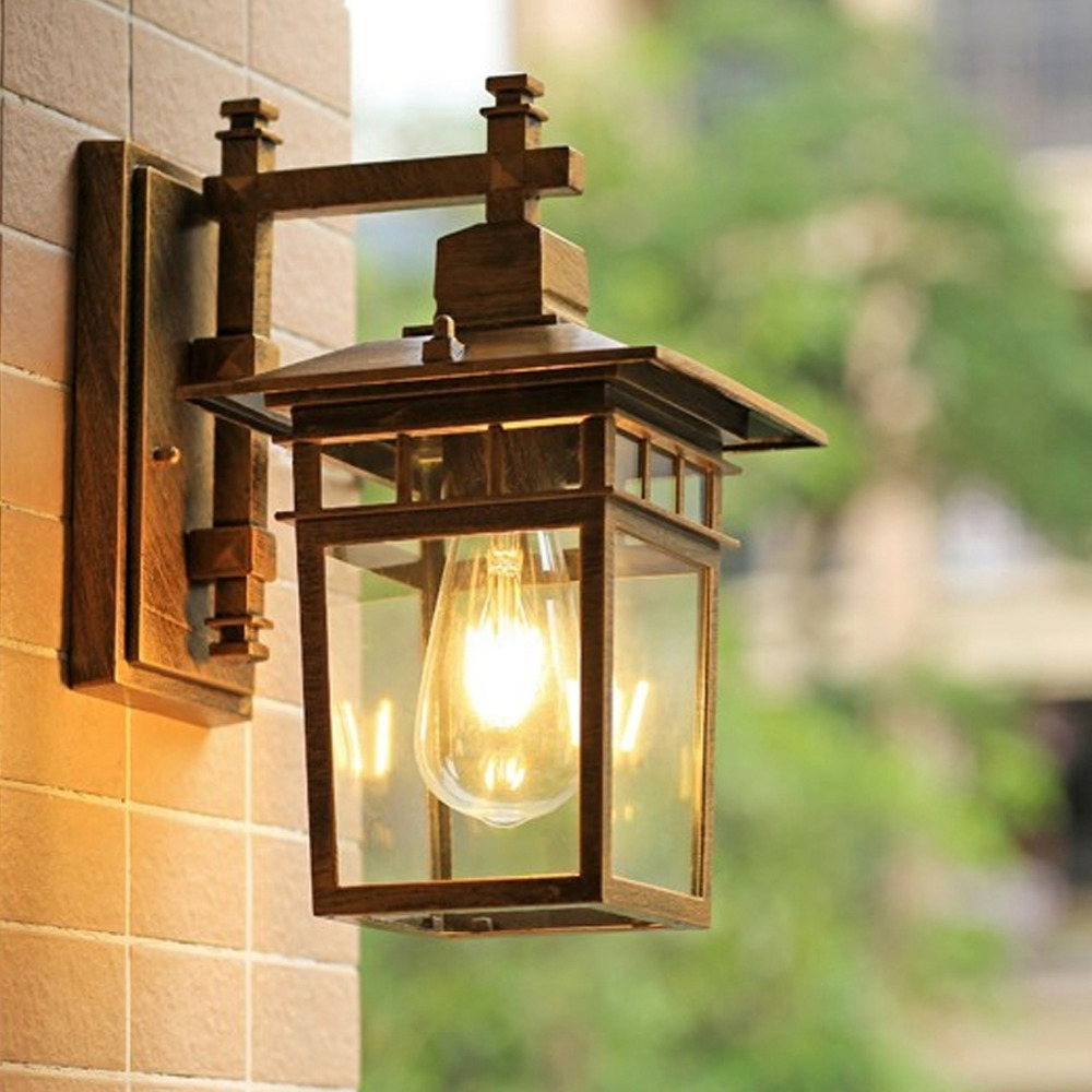 European Outdoor Wall Lighting Intended For Most Popular European Style Outdoor Wall Lamp Waterproof Special Outdoor Villa (View 8 of 20)