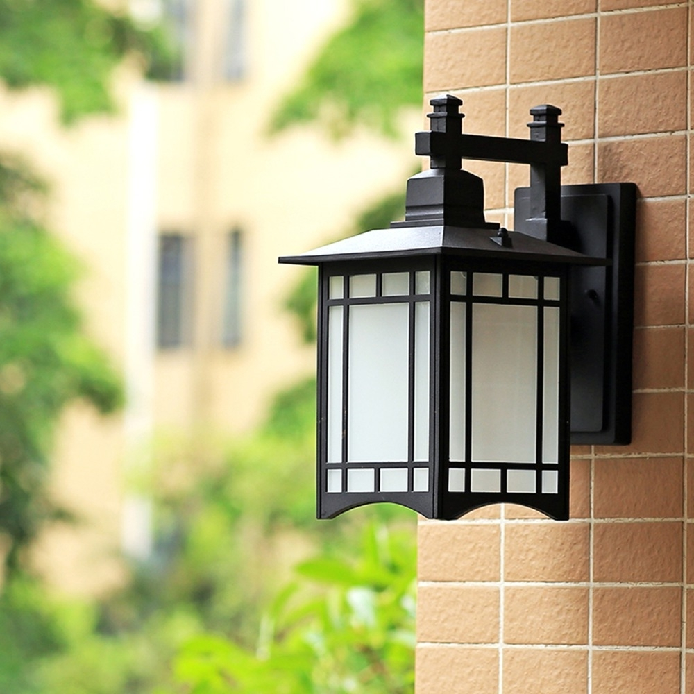 European Style Waterproof Retro Balcony Outdoor Wall Lamp Chinese With Regard To Widely Used European Outdoor Wall Lighting (Gallery 16 of 20)
